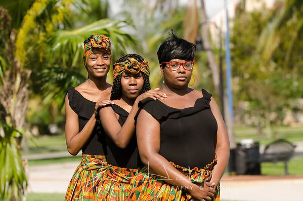 Monique, Keisha and Alexa