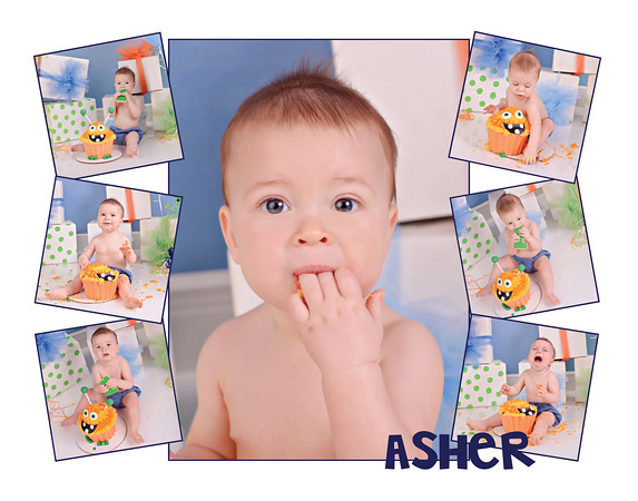 Asher O cake 11x14 collage2