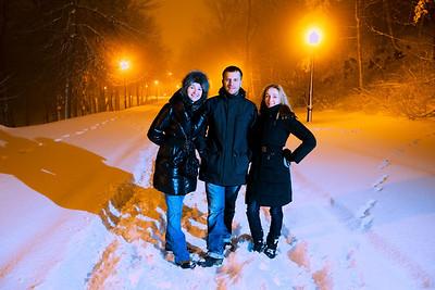 Mount Royal snowstorm