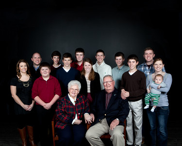 Mullen Family Portraits 2012