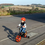 Jack On His New Bike