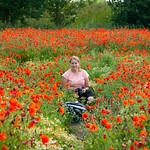 Karen in the Poppy Field, Royston, 20-6-2020 (IMG_9531) 4k