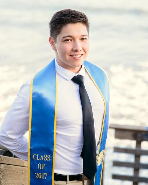 Graduation photo taken by Eric's friend McLane