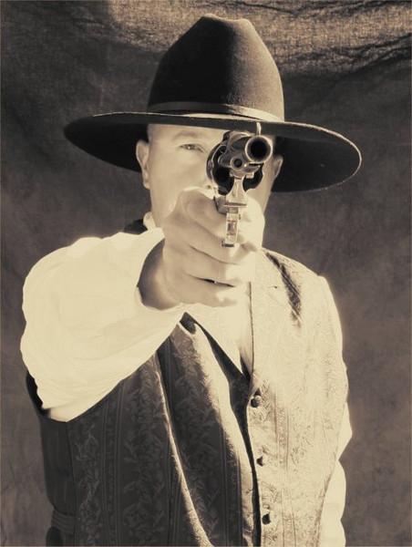 Another Cowboy Match shot,
