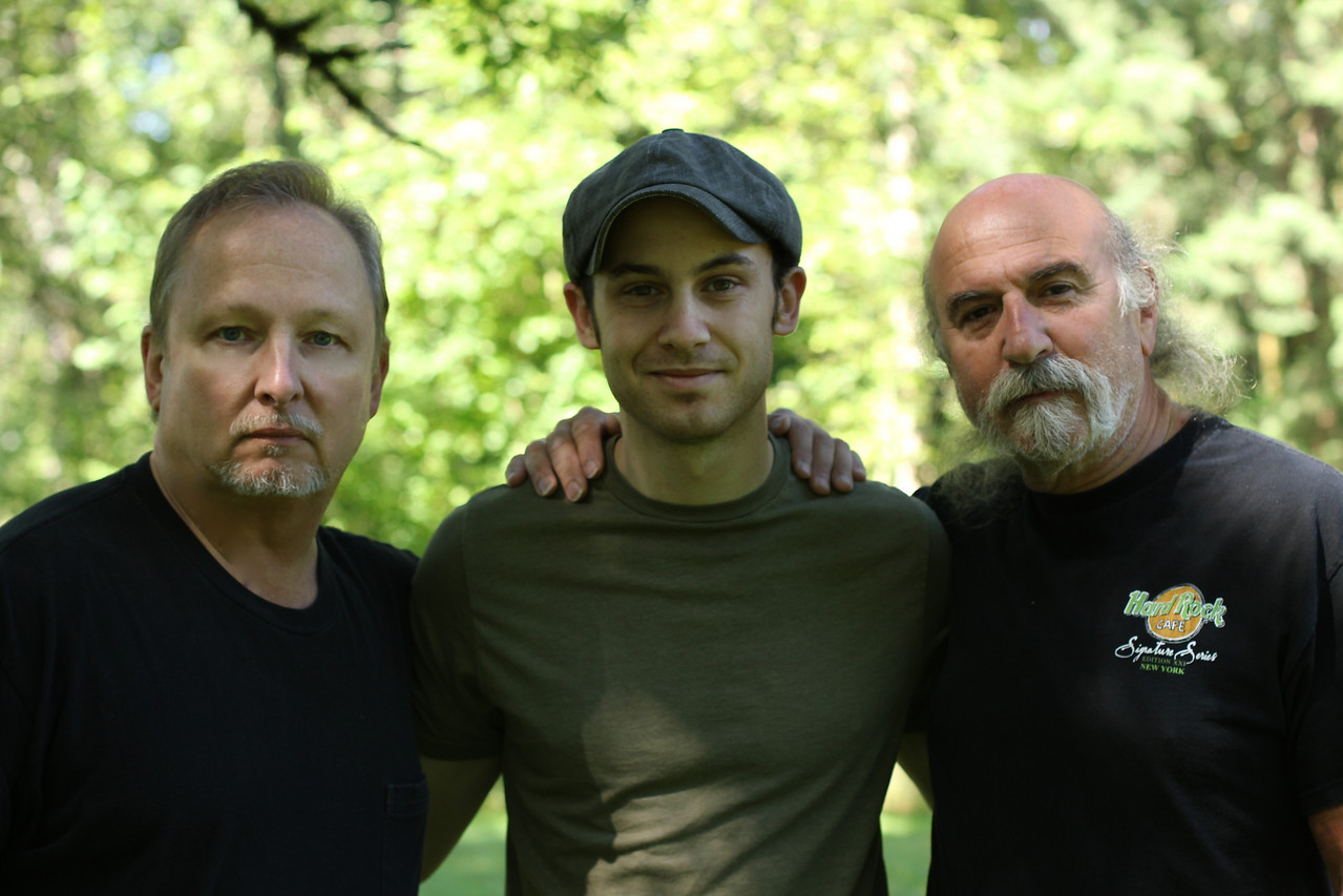 Bob Morgan, Dylan Morgan, Gil Barakat - July 2010