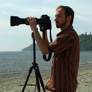 Photographing Wildlife at Point No Point near Hansville, WA