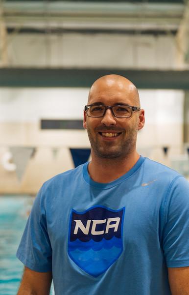 NCA Swimming Headshots