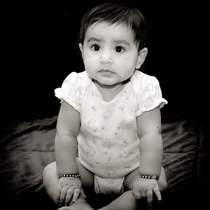 Naaisha's 1st Year Portrait - Milwaukee, WI
