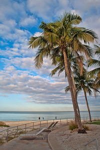 Beach scene, Naples Beach Hotel