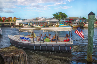 Water Shuttle at Tin City