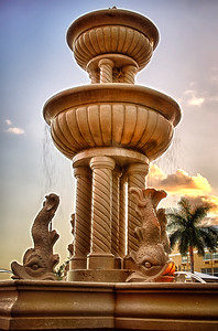 Fountain in Bay Front