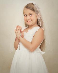 Natalie First Communion 2015