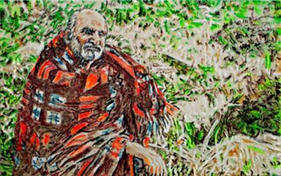 sadhu blanket baba SHANKAR