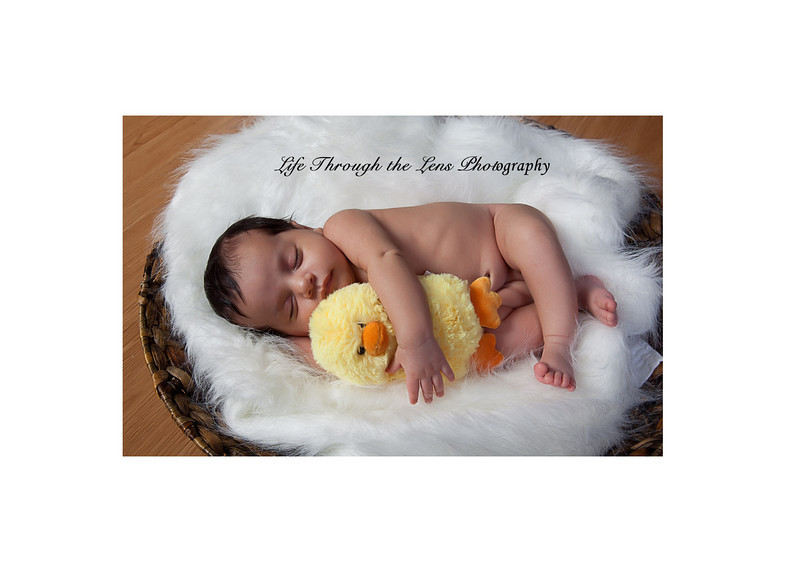 baby with duck 2