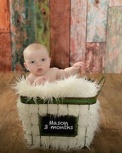 Mason 3 month 17