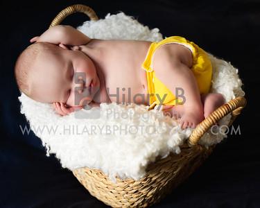 Baby Kennedy Cummings 3 weeks, Newport RI