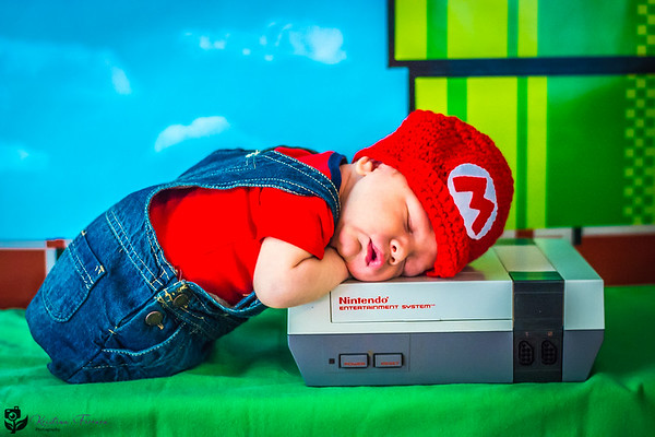 Nintendo Newborn Photo