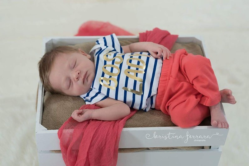 Boss Lady Newborn Photo