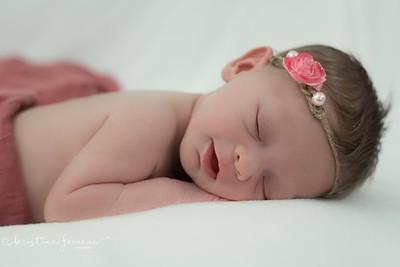 Ariel's Newborn Photo