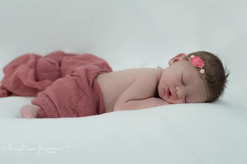 Baby Girl Newborn Photo