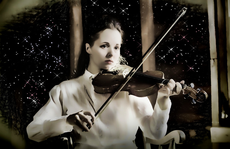 Celestial Symphony  (photo creation by Lee Harwell)