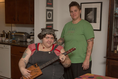 Nomy Lamm and Lisa Ganser