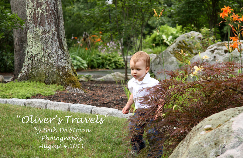 Oliver Travels to Maine to visit his Grandparents
