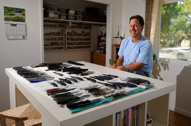 Eric the knife collector.