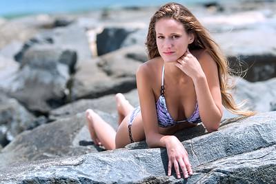 Model Ashley - Bikini photo shoot