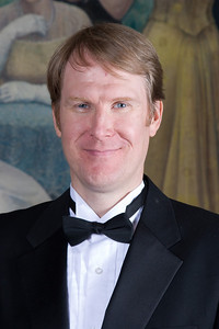 John Irvine, trumpet -- Homewood Brass Quintet, shown at Shriver Hall on the Homewood campus, The Johns Hopkins University
