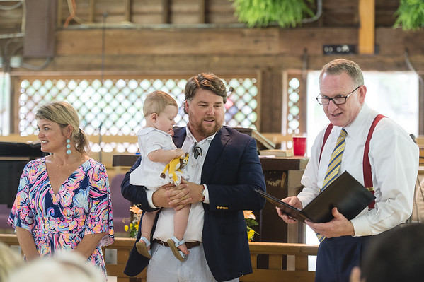 Charles' Baby Dedication