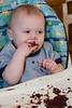 I like making messes!  Owen - 1 year - Juneau