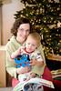Owen loves Thomas the Train. - Christmas - Dec 2008
