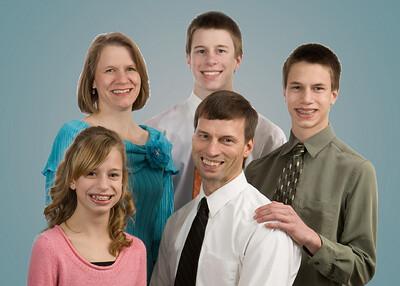 family blue bkgrnd