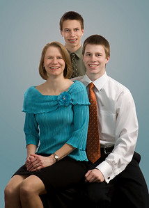 Kathy and sons bluer