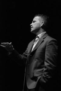 Pierre du Plessis speaking at TFHNY. Copyright © 2008 Alex Emes