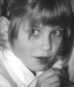 Orphan girl in Ukraine. Copyright © 1998 Alex Emes