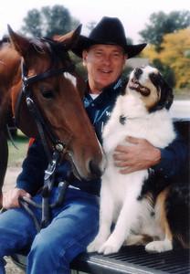 "John Lyons, ""America's Most Trusted Horseman"" - magazine shoot in New York. Copyright © Alex Emes"