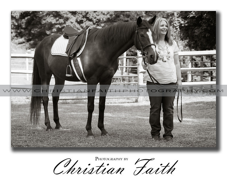 """Love My Horse""<br /> <br /> This Elite Series Print comes in limited sizes.<br /> It is also available for download."