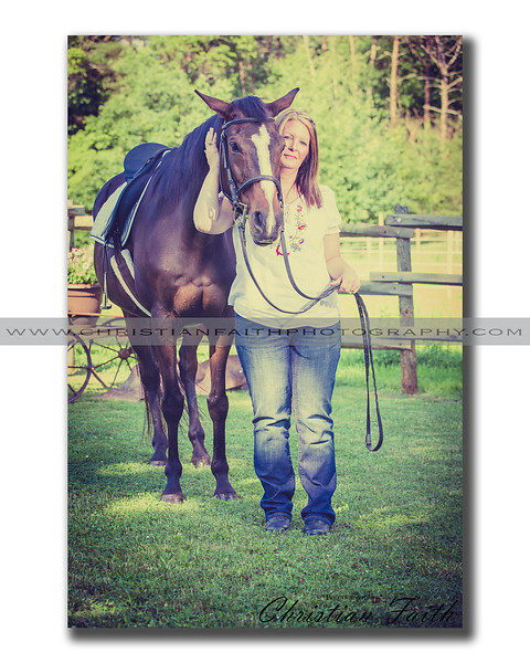 """""""A Girl and Her Horse""""<br /> <br /> This Elite Series Print comes in limited sizes.<br /> It is also available for download."""