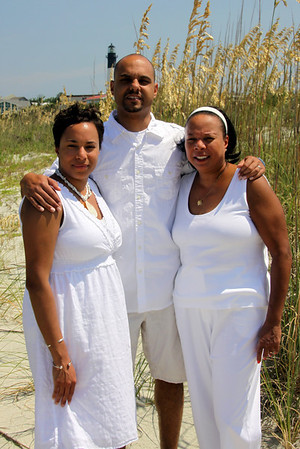 Pam's Family portaits on Tybee.....take two