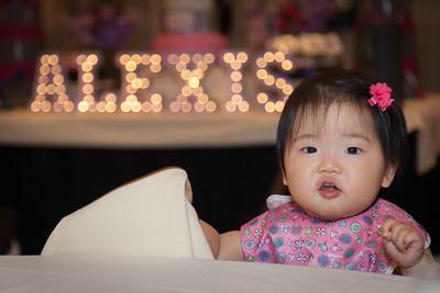 Birthday Photographer - Alexis 1 yr.