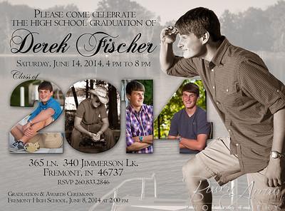 Derek Fischer 2014 Invite Front