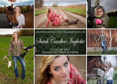 Sarah Ingledue Invite Front