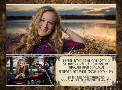 Sydnee Strang 2014 Invite_Front