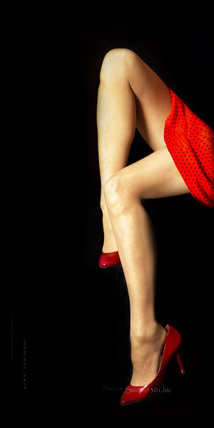 Patricia's legs _self portrait 3925