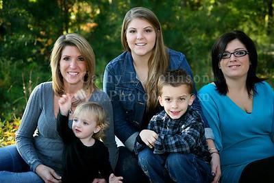 Paula and family - Newport News Portrait Photography