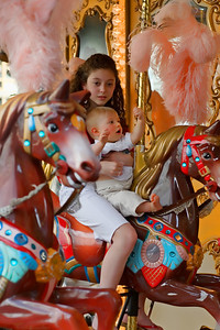 On the Carousel in Florence