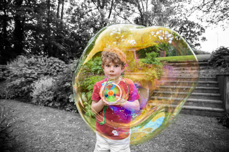 The Boy in the Bubble 150/365