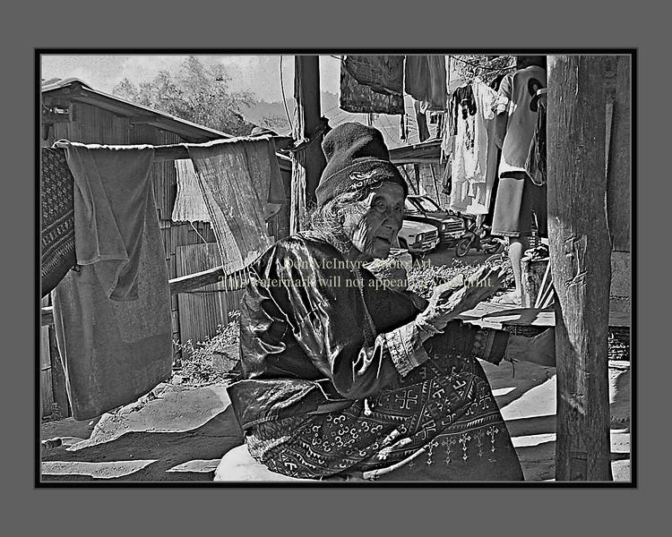 """Hmong Lady"" frame 1"